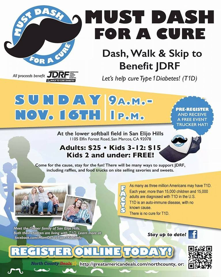 Must Dash for a Cure